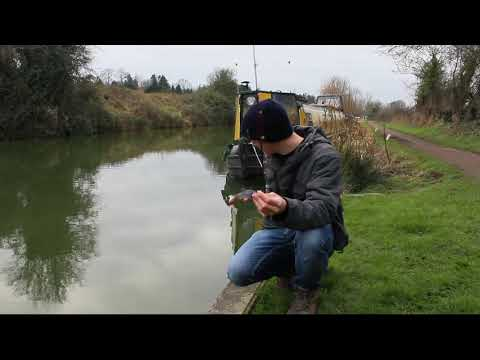Canal Fishing For Pike With Lures!