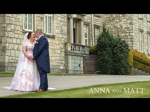 Harrogate Wedding Video - Anna and Matt - Hazlewood Castle