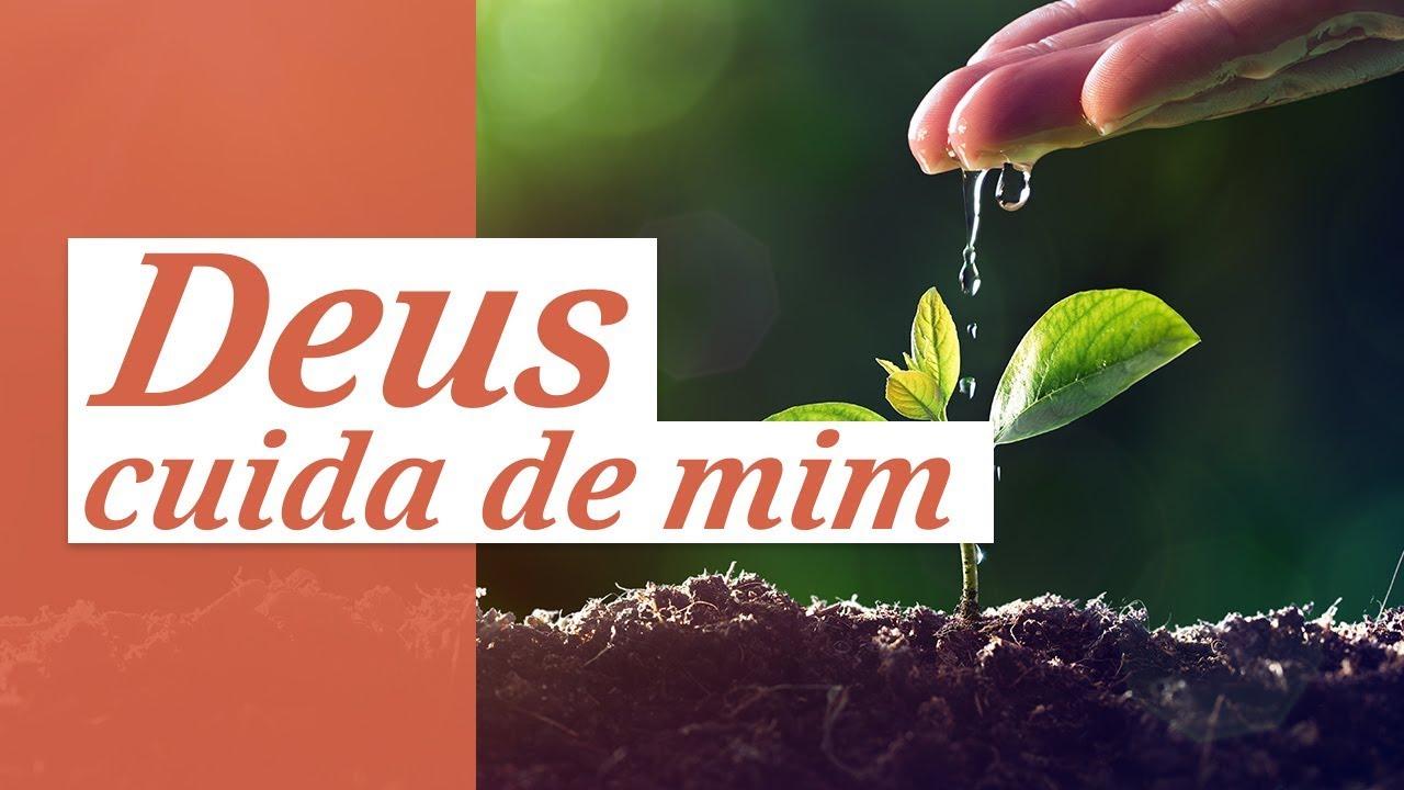Mensagem De Reflexão De Deus 🙏 (Deus Cuida De Mim O Tempo