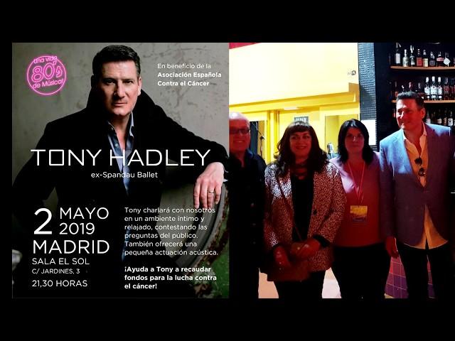 Tony Hadley - Sala El Sol Madrid 02/05/19