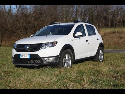 dacia sandero stepway 1 5 dci prestige prova su strada youtube. Black Bedroom Furniture Sets. Home Design Ideas