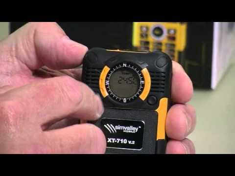 MOBILE Action- & Outdoor-Handy XT-710 V.2 - VERTRAGSFREI von simvalley (PX-3405-821)