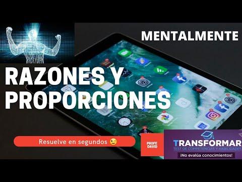 Download Razones y Proporciones Mentales Transformar 2😉