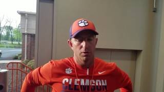 TigerNet.com - Dabo Swinney April 3