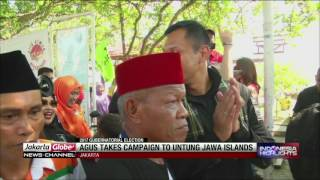 Agus Harimurti Yudhoyono Takes Campaign To Thousands Islands