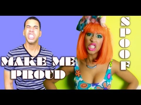 Drake - Make Me Proud ft. Nicki Minaj SPOOF