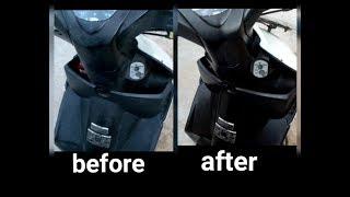 Cara Mudah Dan Murah Kilapkan Body Motor Kusam