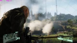 CRYSIS 3 PC gameplay at WUXGA on MAXED OUT Settings GTX 670 FPS Frame Rate Performance Test