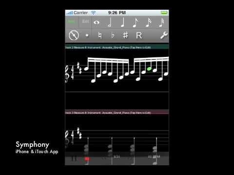 Symphony - Music Notation on the iPhone