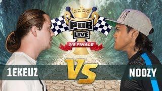 1eKeuz vs Noozy - 1/8ste Finale Punchoutbattles Live 2015/2017