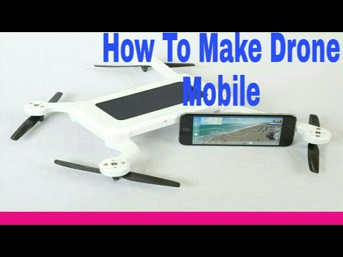 How to make mobile drone