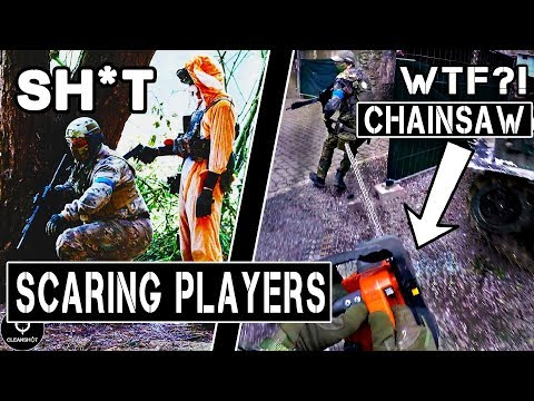 Scaring the $&*% out of Players in TERRIFYING Costumes!(DP, SANTA, DONALD...)