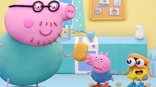 Peppa Pig English Episodes | Fun Play with Peppa and Doh-doh | Play-Doh Show Stop Motion @Play-Doh screenshot 5