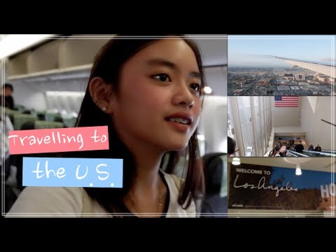 Vlog 006 | TRAVELLING TO THE U.S.