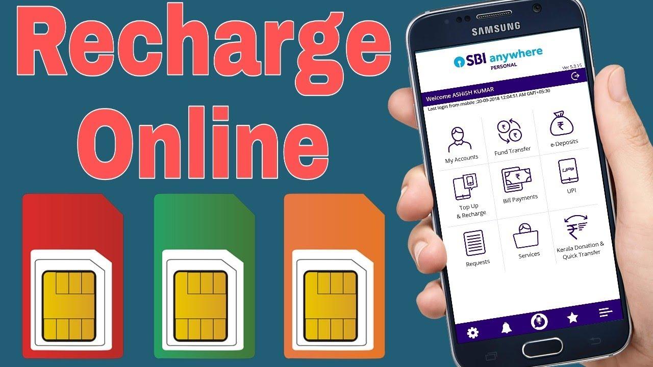 Netbanking Mobile Recharge