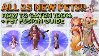 ALL EPISODE 5 PETS: 100% CATCH RATE, PET FUSION DEMO & PET SKILLS!!