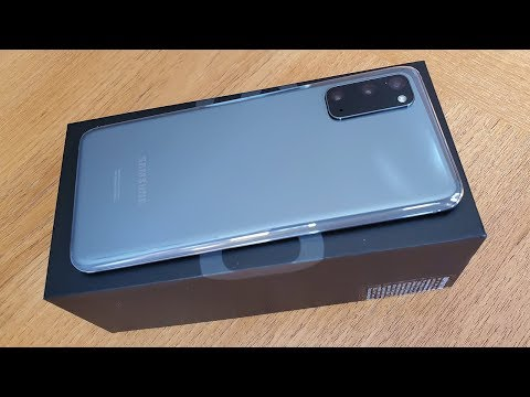 Samsung Galaxy S20 5G Unboxing - Cosmic Gray