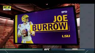 "Get Up | Louis Riddick Discusses about Bengals trading No.1, ""That might be Joe Burrow?"""