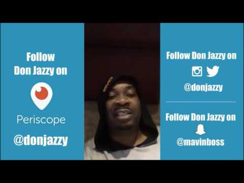 Best of Don Jazzy's first ever Periscope live stream