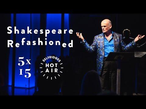 Selfridges presents Shakespeare ReFASHIONed 5x15 Talks: Roja Dove on Shakespeare