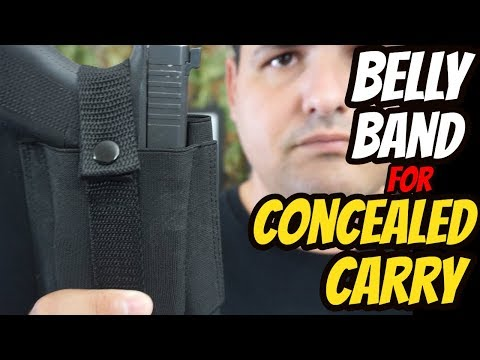 Belly Band for Concealed Carry - YouTube
