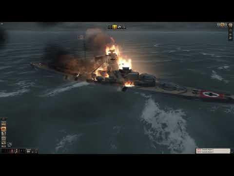 Silent Hunter 5 | İlk Türkçe Oynanış | Bismarck'ı Batırdık. | |