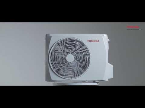 Настенный кондиционер Toshiba RAS-18U2KH3S-EE/RAS-18U2AH3S-EE. Видео 1