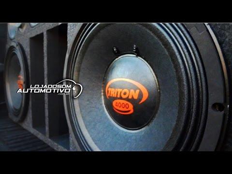 Alto Falante Woofer Triton 4000 Rms Plug And Play 12 Polegadas