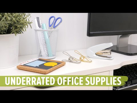 9 Underrated Office Supplies You Need on Your Desk