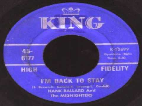 I'm Back to Stay / Come on Wit' It by Hank Ballard & the