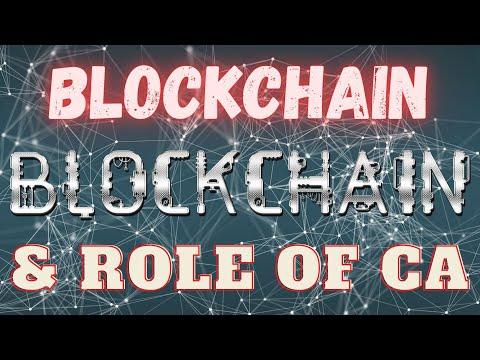 Blockchain Technology & Role of CA's in Blockchain Technology || By Shivam Ahuja