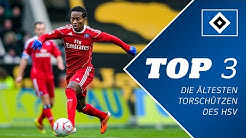 TOP 3 - Älteste Torschützen des HSV