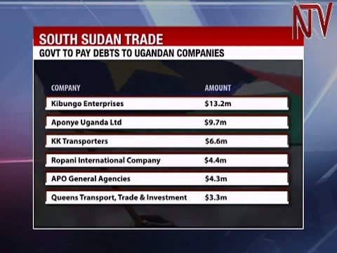 Government to pay Ugandan traders owed money by South Sudan government