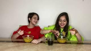 Spicy Noodles Challenge  Jannat Zubair Rahmani  Ayaan Zubair Rahmani