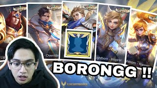 BORONG SKIN LIGHT BORN !! AUTO NGECARRY PRO PLAYER !! - Mobile Legend Indonesia