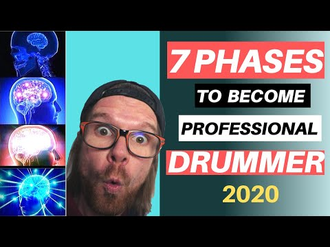 How To Become A Professional Drummer | 7 Evolution Phases (2020)
