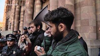 Ուսանողները հայտարարում են, որ շարունակելու են բողոքի ակցիաները