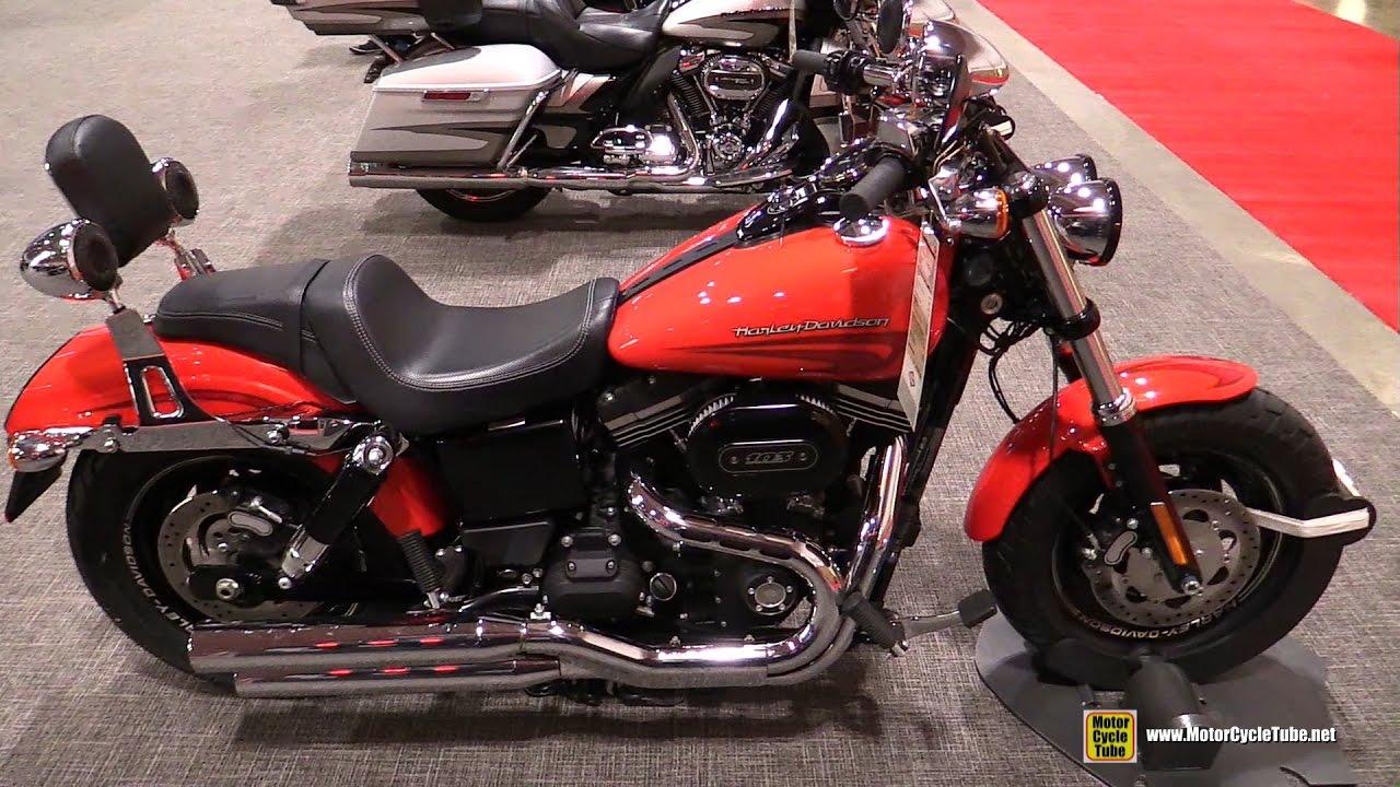 2017 Harley Davidson Dyna Fat Bob Walkaround Toronto Motorcycle Show