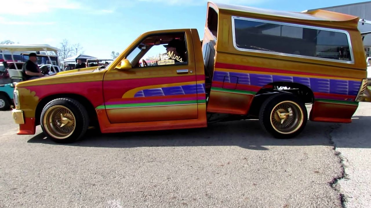 Some Old School Mini Trucks From The 80s N 90s