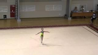 Художественная гимнастика. Самара. Струльникова Алина. 20.05.15