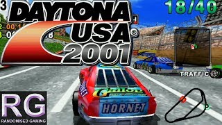 Daytona USA 2001 Sega Dreamcast Intro Three Seven Speedway