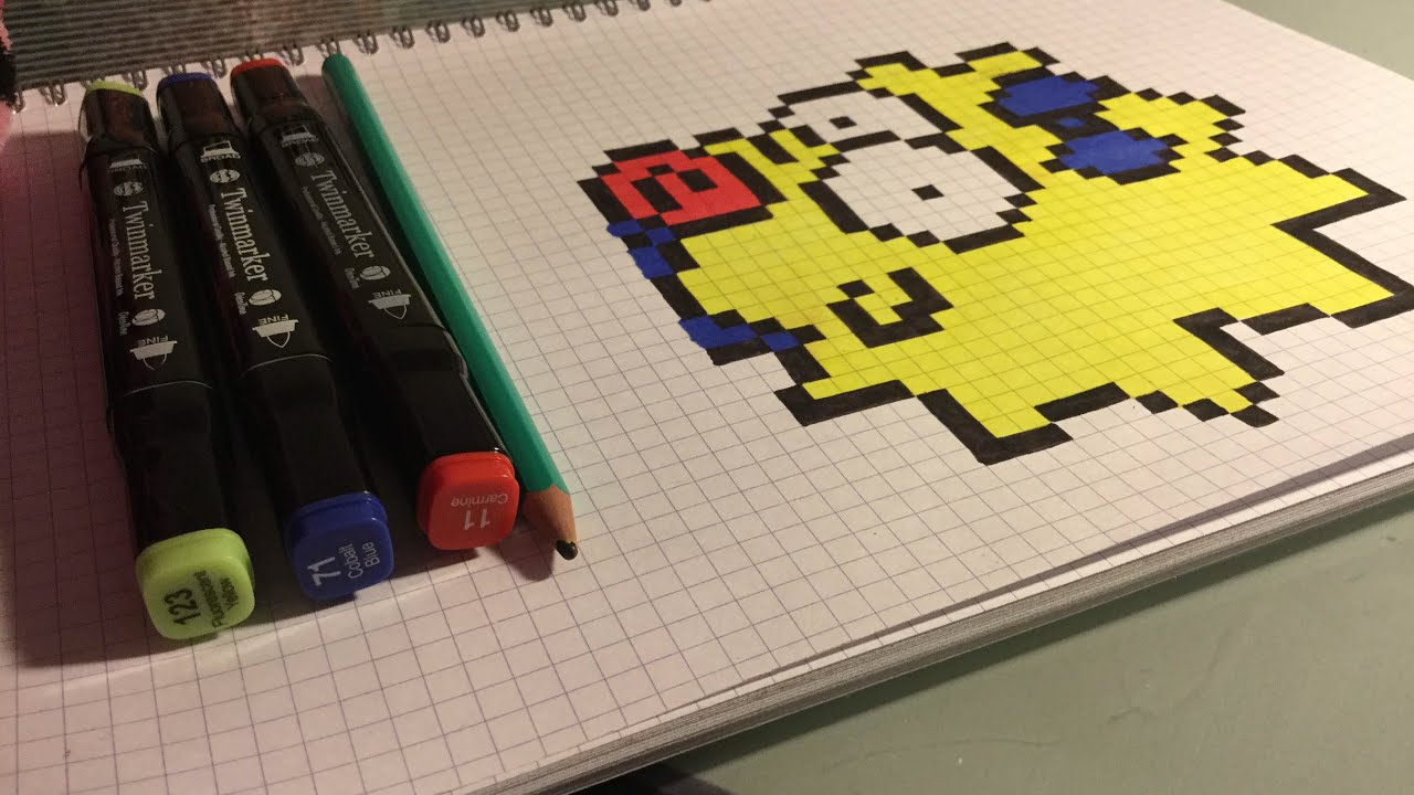 Marge Simpson Pixel Art Grid