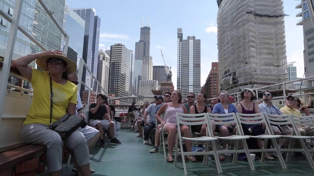 chicago architecture boat tour — chicago line cruises - youtube