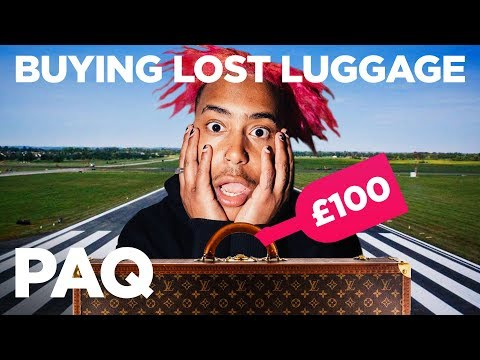 Styling Outfits From Random People's Lost Luggage!