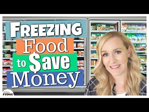 5 FOODS I FREEZE TO SAVE MONEY -- How to Save Money on Groceries -- The Family Fudge