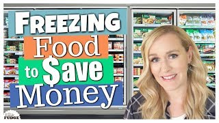 5 FOODS I FREEZE TO SAVE MONEY || How to Save Money on Groceries || The Family Fudge