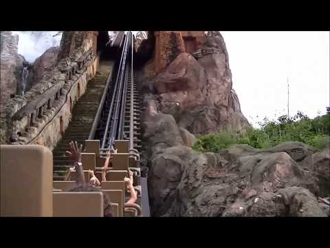 Expedition Everest At Disney's Animal Kingdom Theme Park 1080p HD