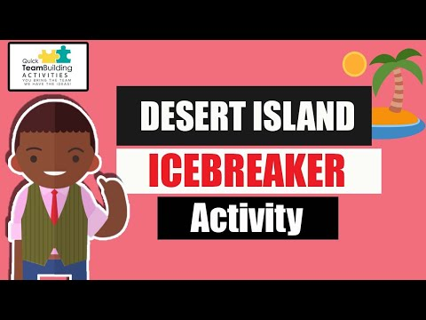 Desert Island Team Building Game