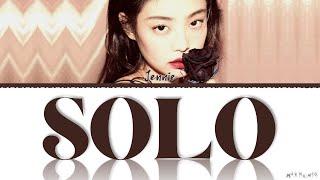 Download Mp3 JENNIE SOLO SOLO Lyrics