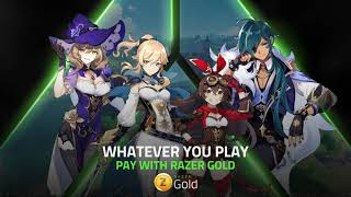 How To Recharge Genshin Impact Genesis Crystals with Razer Gold | Razer Gold